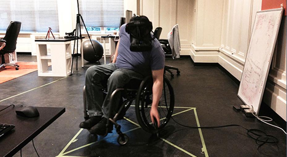 Kørestolsbruger