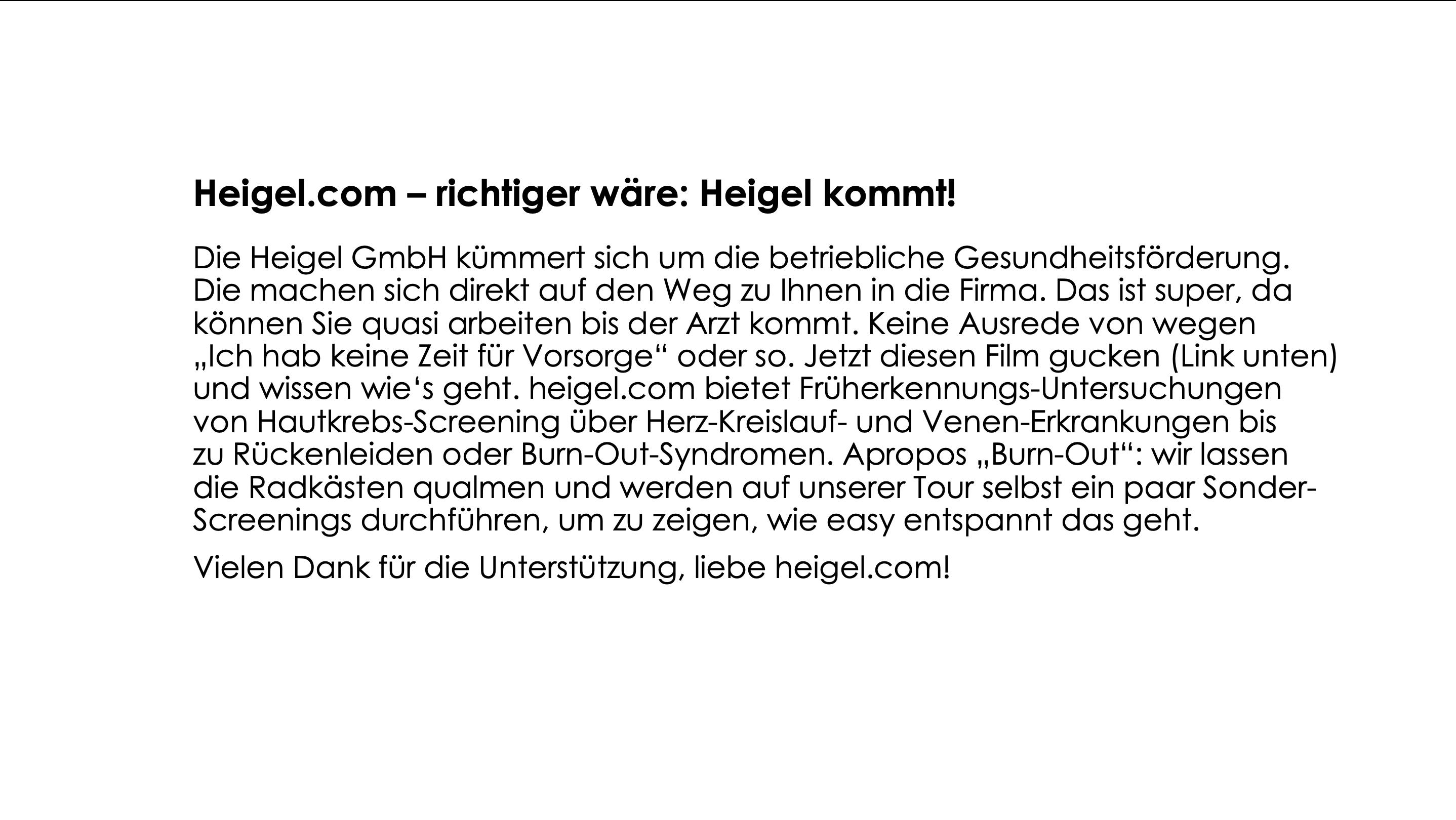 heigel.com