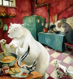 Le petit déjeuner des animaux