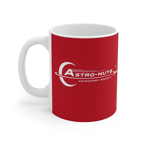 Astro-Nuts Mug (Red) - Ships from US