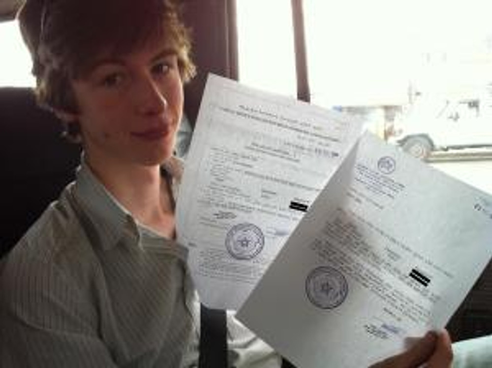 Zander with the Permits (at last!)