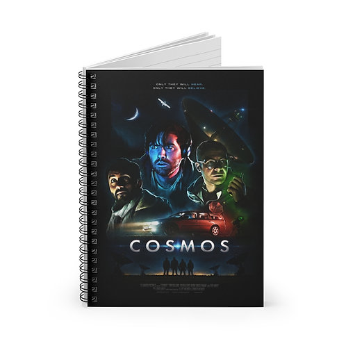 COSMOS Notebook (Theatrical Poster) - Ships from US