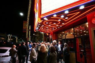 COSMOS US Film Premiere Exterior