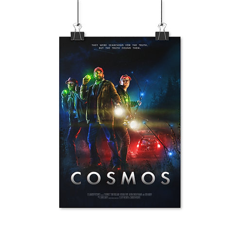 "COSMOS Movie Poster (""The Astro-Nuts"") - Ships from EU"