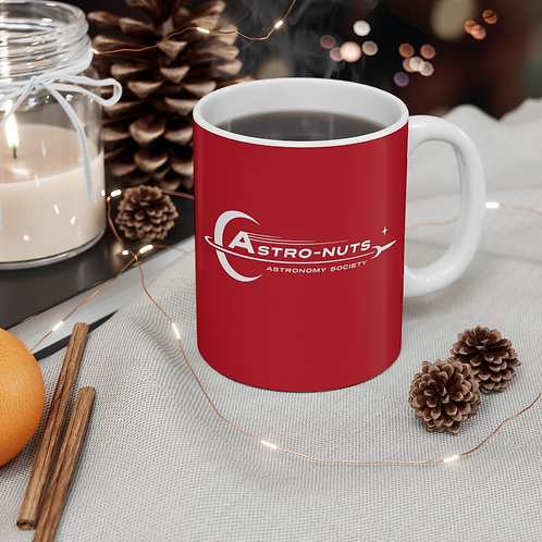 Astro-Nuts Mug (Red) - Ships from UK