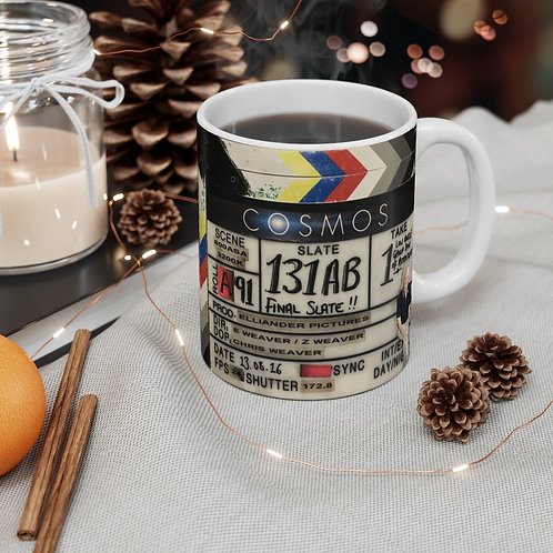 COSMOS Clapperboard Mug - Ships from UK