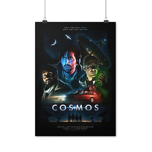 COSMOS Movie Poster (Theatrical) - Ships from EU