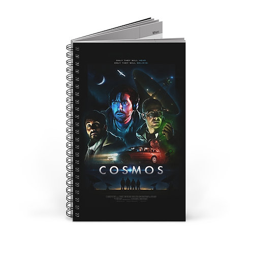 COSMOS Notebook (Theatrical Poster) - Ships from EU