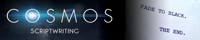 COSMOS Banner Scriptwriting