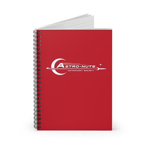Astro-Nuts Field Notebook (Red) - Ships from US