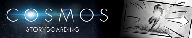 COSMOS Banner Storyboarding