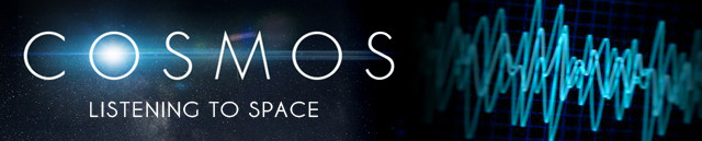 COSMOS Banner Listening to Space