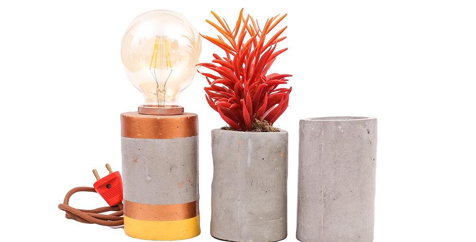 Long Cylindrical Lamp