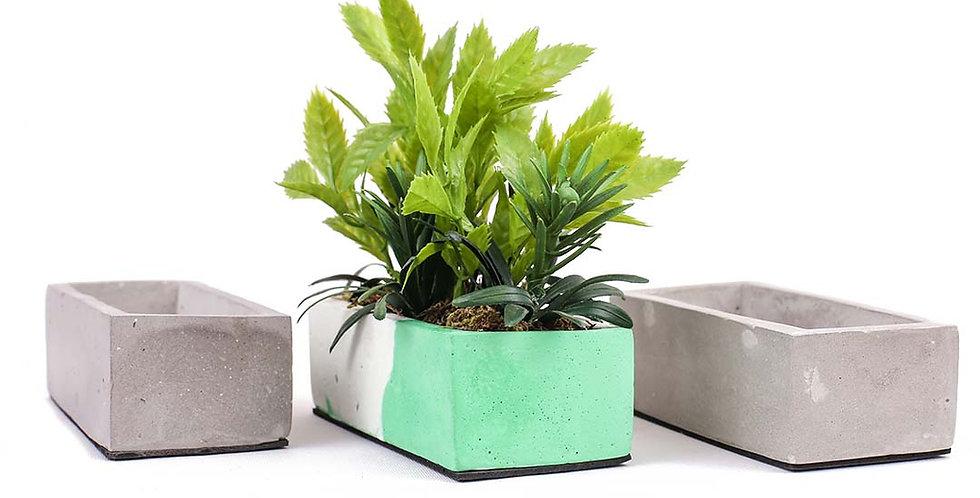 Tiny Rectangle Planter