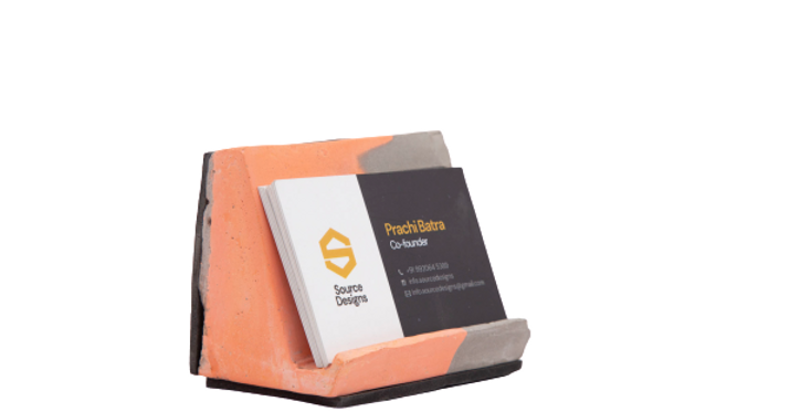 Single Slab CardHolder