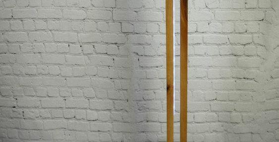 Wooden LED Floor Lamp