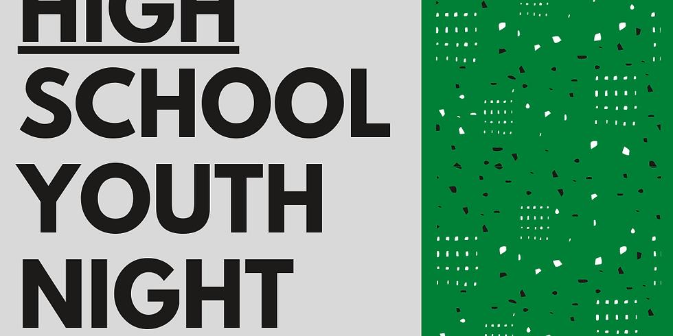 High School Youth Night (Oct)