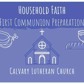 Household Faith | First Communion Preparation - Lesson One