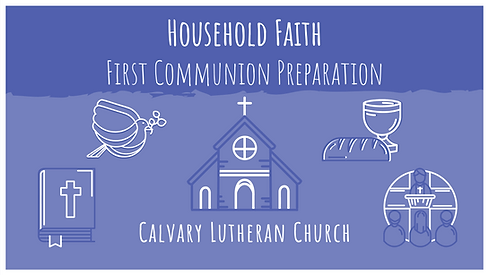 Household Faith First Communion Preparat
