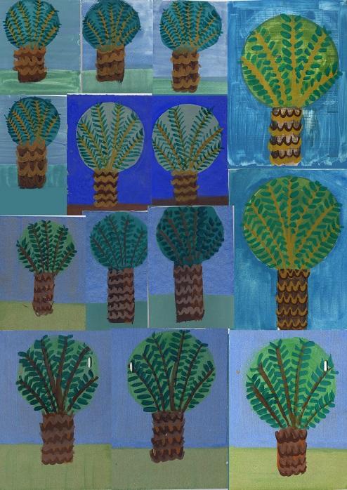 Palm Trees Nursery Garden