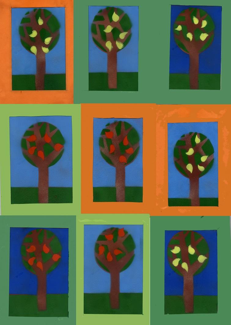 Stencil trees