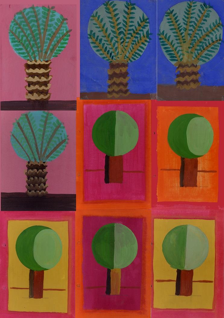 Palm Trees Garden
