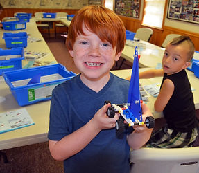 boy lego engineering