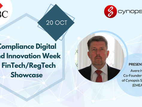 Avere Will Be Showcasing Cynopsis Solutions At The Compliance Digital and Innovation Week