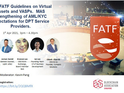We're Inviting You To Join Us In The Upcoming Discussion Session On The New FATF Guidelines