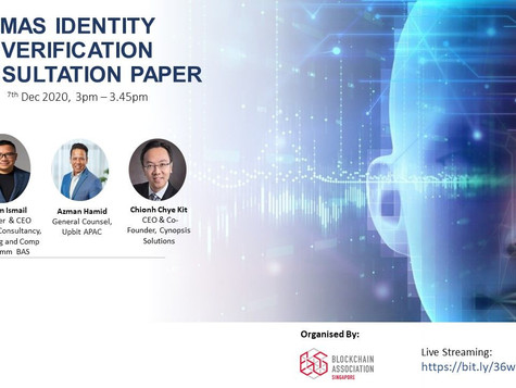 See You At The Upcoming Session On MAS Identity Verification Consultation Paper!