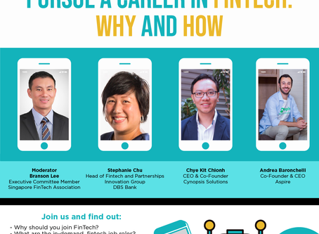 """Join Cynopsis In The """"Pursue a Career in FinTech: Why and How"""" Hosted Webinar"""