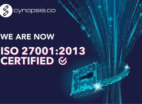 Cynopsis Achieves ISO/IEC 27001:2013 Certification - Assuring The Highest Information Security Level