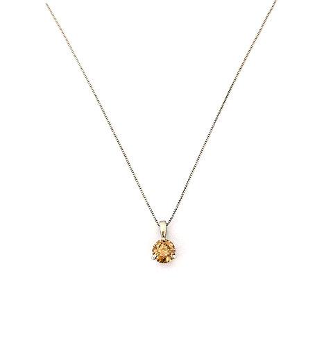 Brown Diamond Gold Pendant