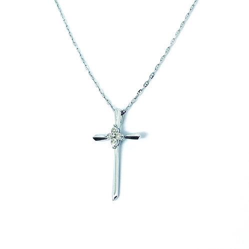 Gold Diamond Cross