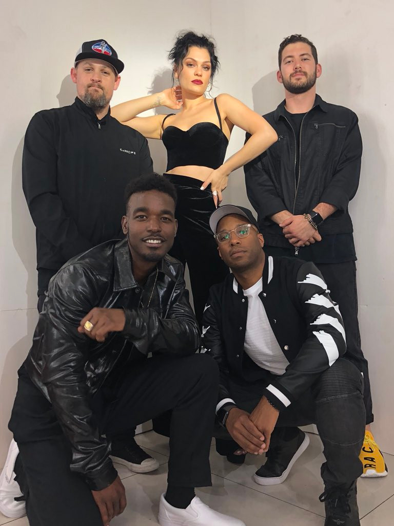 Joel Madden (MDDN), Jessie J (Artist), Andrew Spalter (East Goes Global), Luke James (Artist)