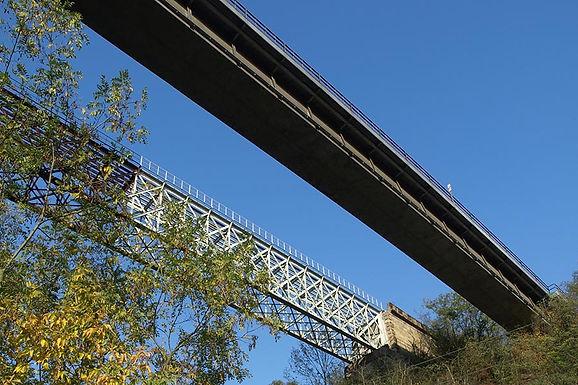 Most železňák
