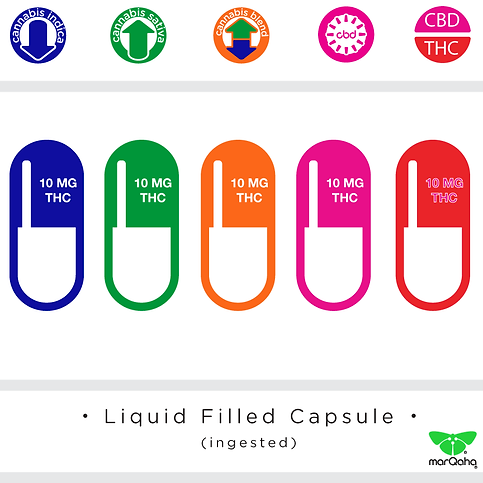 Liquid Filled Cannabis Capsule, cannabis beverage, marqaha, marijuana, high times cannabis cup winner, cannabis, cbd