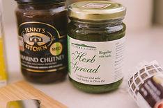 Waiheke Herb Spread, Jenny's Kitchen Tamarind Chutney