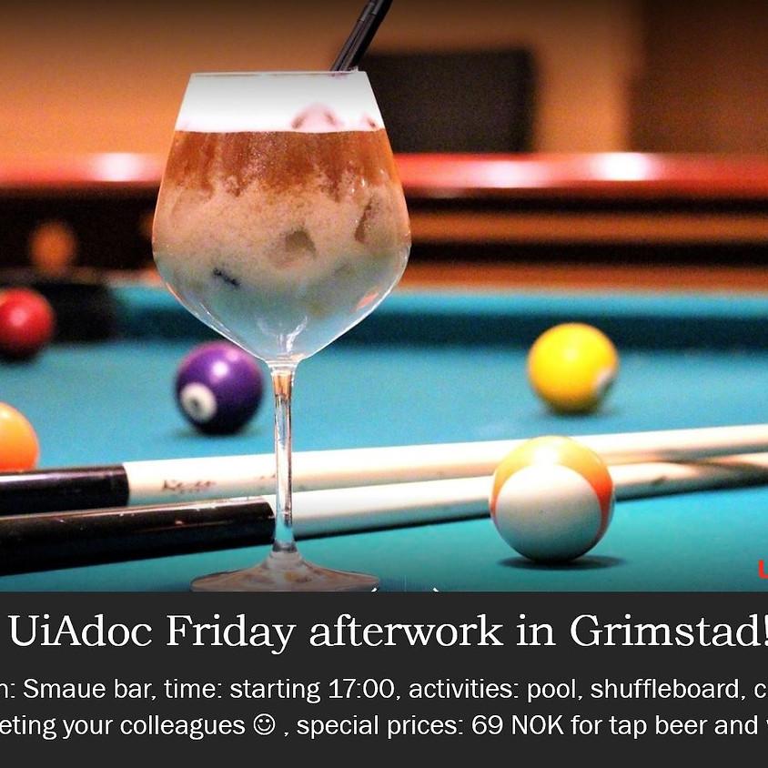 UiAdoc Friday afterwork in Grimstad