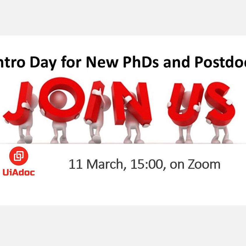 Intro Day for PhDs and Postdocs