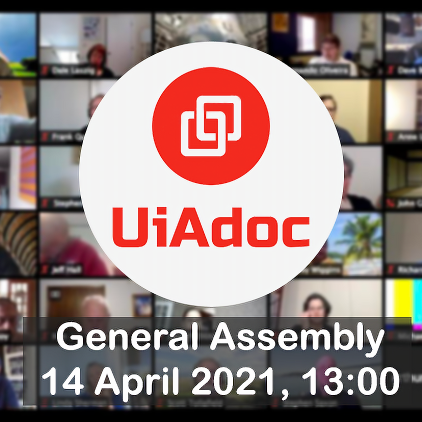 UiAdoc General Assembly 2021 (Zoom)