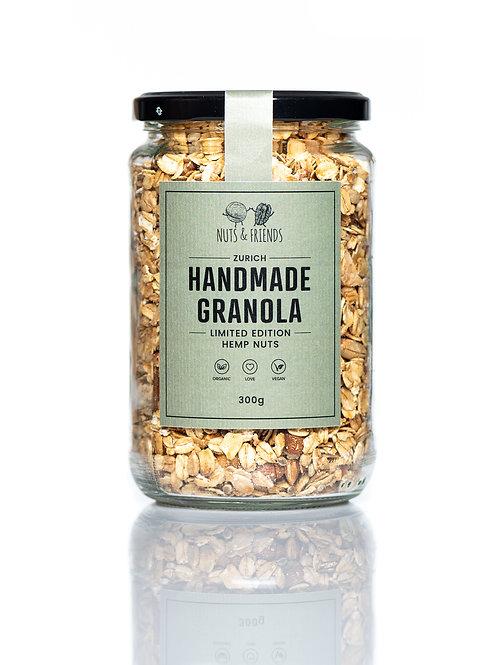 GRANOLA LIMITED EDITION HEMP NUTS, 300g, Bio