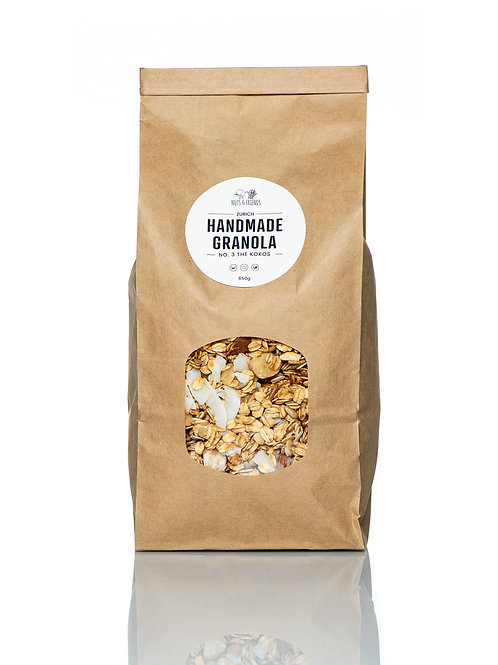GRANOLA NO.3 THE KOKOS, 650g, Bio