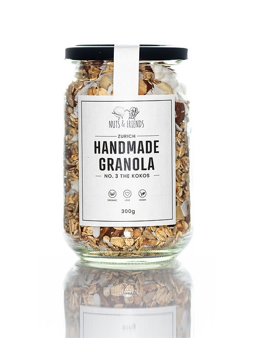 BIO GRANOLA NO. 3 THE KOKOS, 300g
