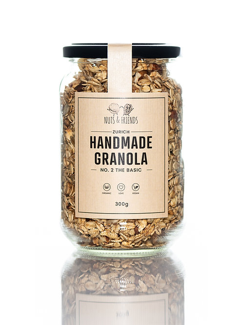 BIO GRANOLA NO. 2 THE BASIC, 300g