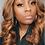 "Thumbnail: 20"" lace closure wig custom colored #4/27"