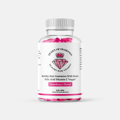 QOD Healthy Hair Vitamin Gummies