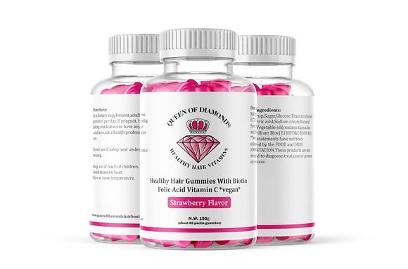QOD Healthy Hair Gummies (3) month supply