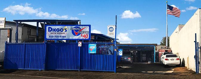 Diegos auto repair Monebello Location