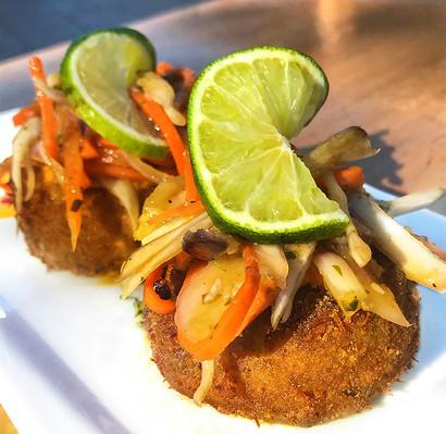 Puerto Rican Crab Cakes